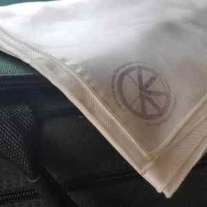 Foulard de soie naturelle
