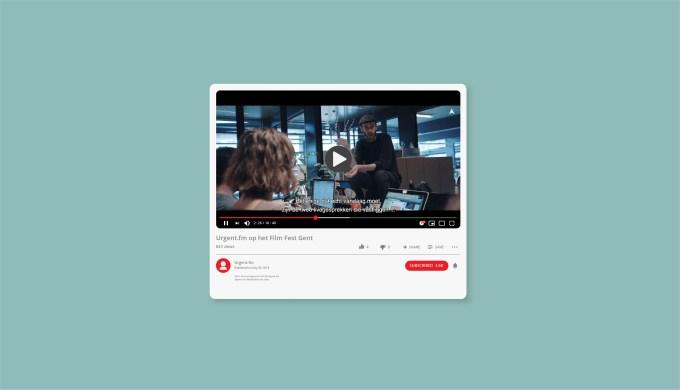 De redactie van Urgent.fm op het filmfestival van Gent