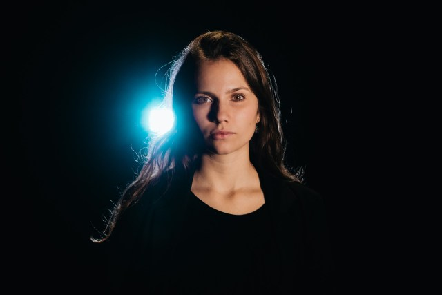 studiofotografie met tegenlicht