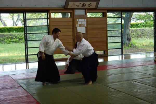Osawa Sensei in Sengawa