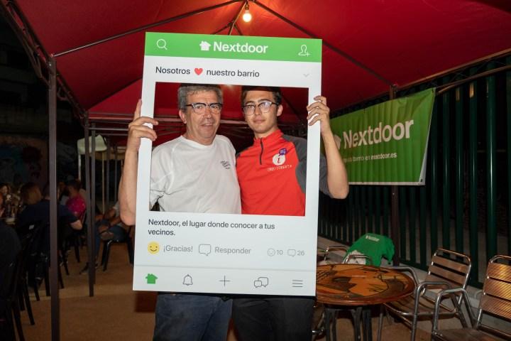 Trobada de veïns usuaris de l'app Nextdoor
