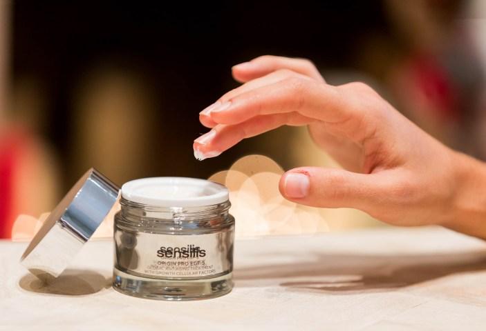 Fotografía de productos de cosmética para Sensilis