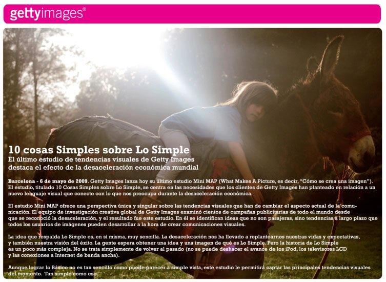 """10 cosas simples sobre """"Lo Simple"""" – Getty Images"""