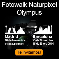 Fotowalk gratuito con Naturpixel y Olympus