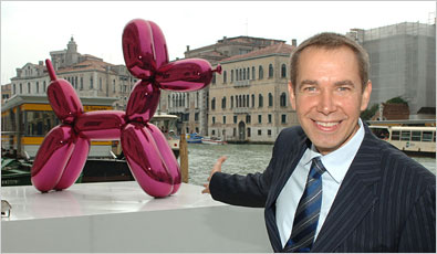 Balloon dog Jeff Koons