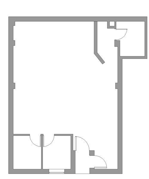 Estado actual Planta intervención espai de cuina