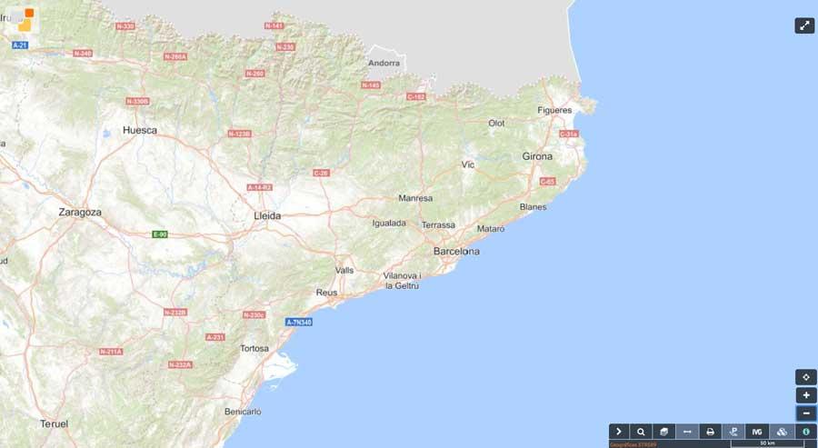 Mapa Buscador de inmuebles Sede Electrónica del Catastro