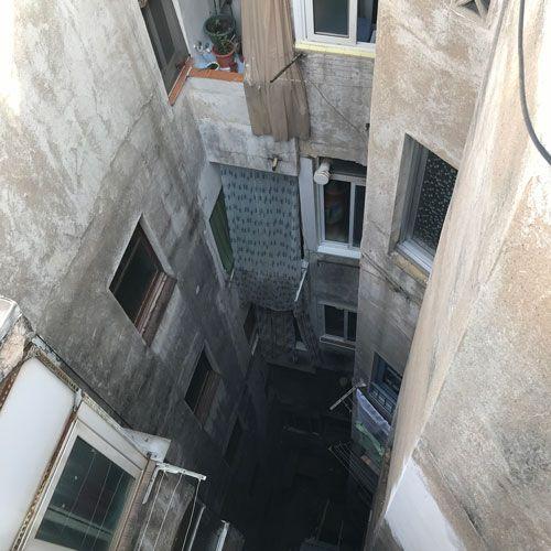 Deficiencias ITE - falta de mantenimiento en patios interiores