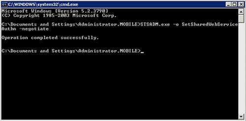 Habilitar Kerberos en los Servicios Compartidos (SSP)