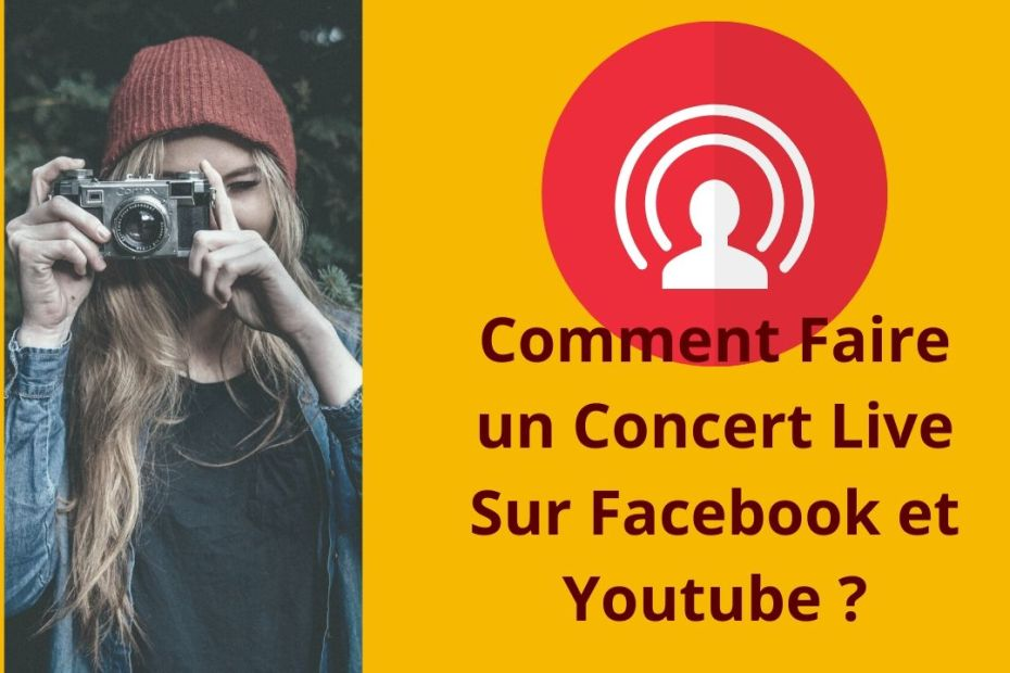 comment faire un live sur facebook et youtube