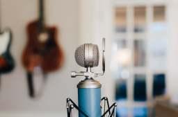 microphone blue production musicale pour artiste indépendant