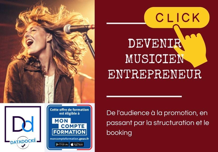 musicien entrepreneur cpf