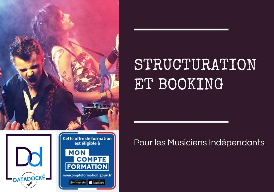 structuration musicien auto entrepreneur booking trouver concerts