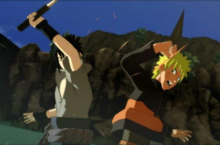 Naruto Shippuden Ultimate Ninja Storm 3 Naruto Sasuke