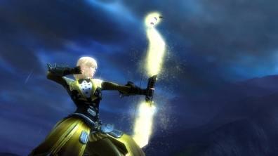 Guild Wars 2 vuelta al cole Rey Sapo arma mago
