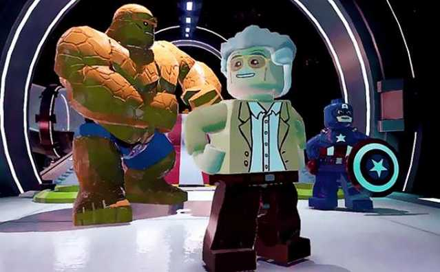 stan lee lego marvel