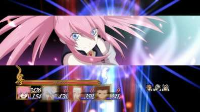 tales of symphonia chronicles 10 aniversario batalla anime 3