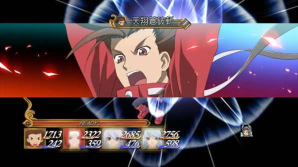 tales of symphonia chronicles 10 aniversario batalla anime 5
