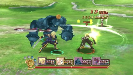 tales of symphonia chronicles 10 aniversario gameplay 19