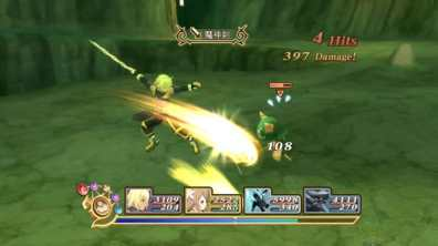 tales of symphonia chronicles 10 aniversario gameplay 8