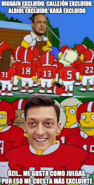 football ozil madrid