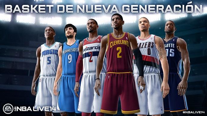 NBA Live 14 embajadores