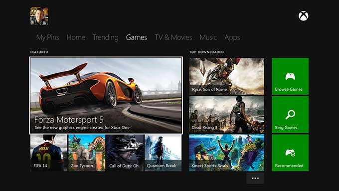 Game Store Xbox One
