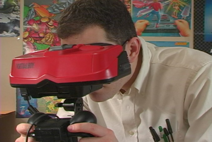 Virtual Boy Nintendo Interior