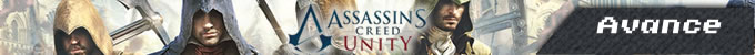 banner avance assassin's creed unity