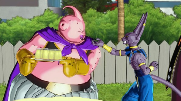 dragon ball xenoverse battle of god 2