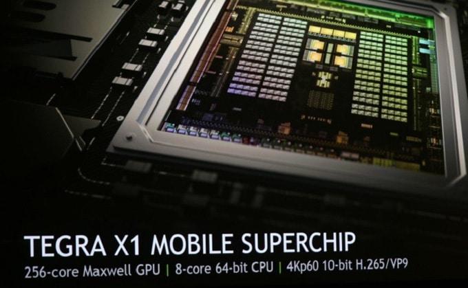 Tegra X1 Nvidia gráfica Interior