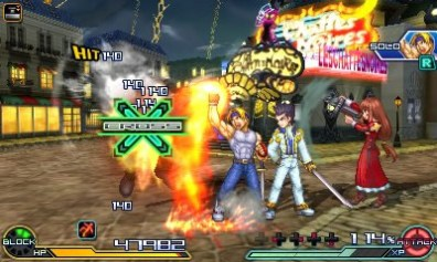 project x zone 2 gameplay 8
