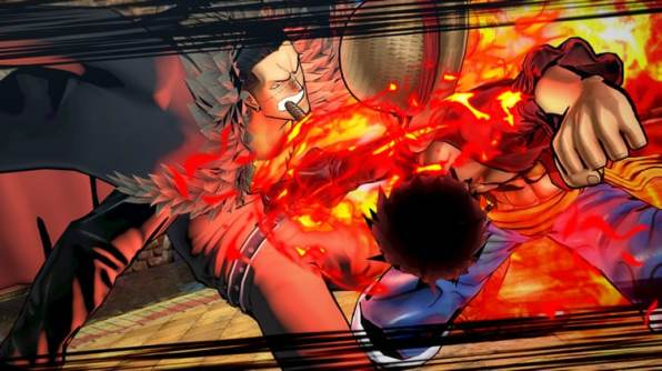 one piece burning blood.6