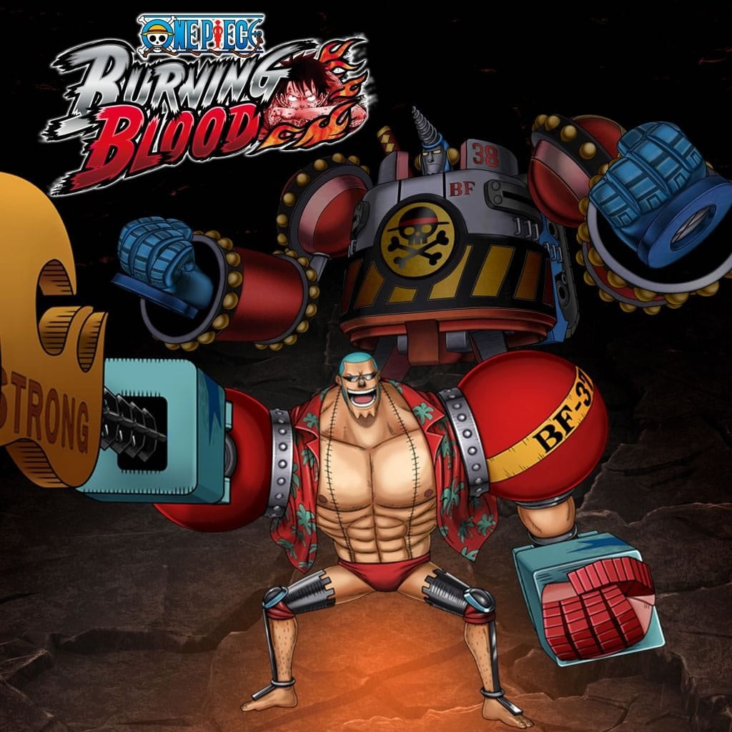one piece burning blood franky