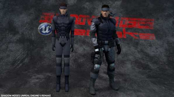 Shadow Moses Metal Gear Solid Remake