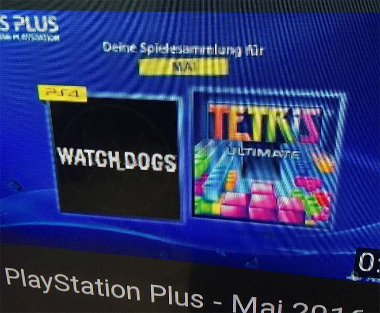 Watch Dogs y Tetris, ¿los PS Plus de este mes?