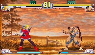 street fighter v 16 bits karin vs
