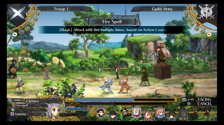 GRAND KINGDOM GAMEPLAY.batalla