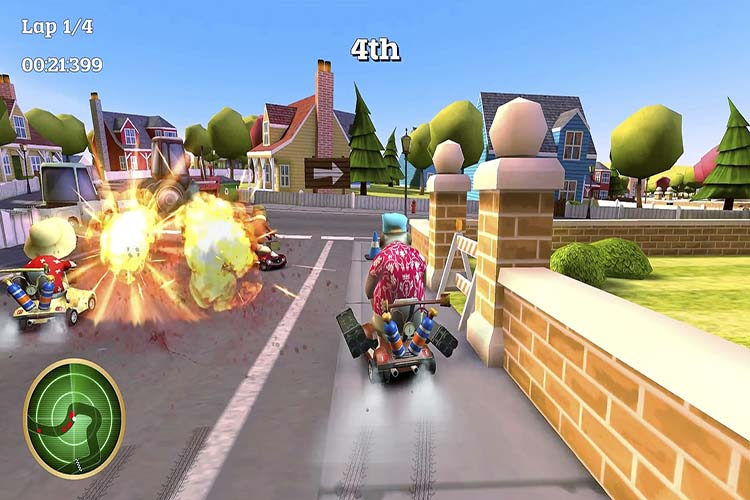 COFFIN DODGERS - ANÁLISIS PLAYSTATION 4