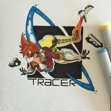 overwatch tracer tinta