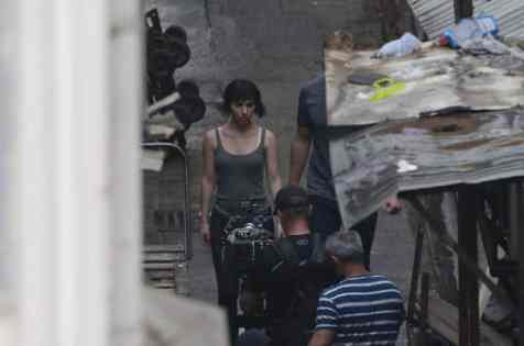 Ghost in the Shell: fotos filtradas del rodaje