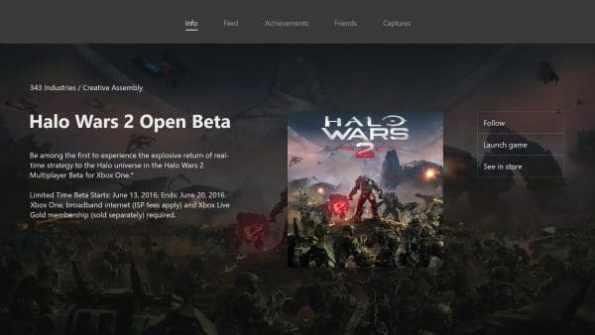 halo wars 2 beta abierta junio