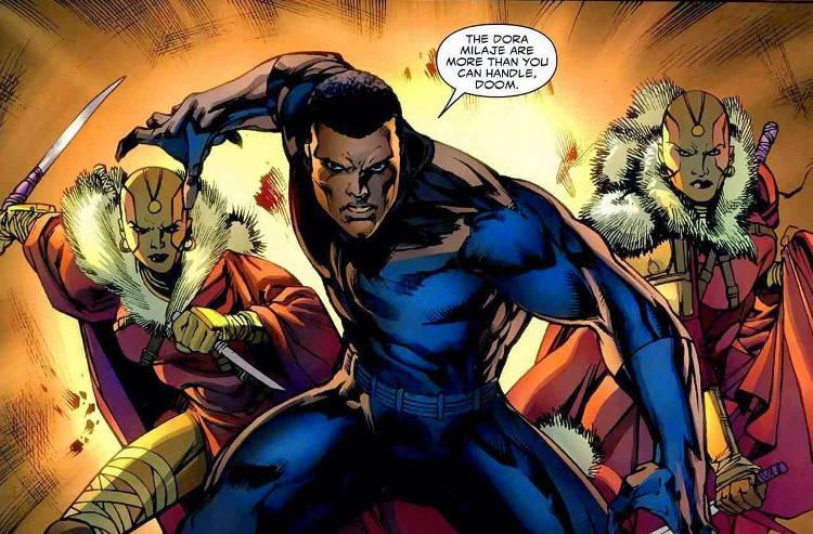 El posible equipo de Black Panther, extraído de sus cómics