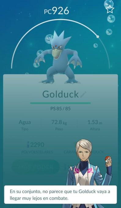 pokemon go valoracion 1