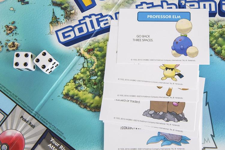 pokemon johto monopoly cartas