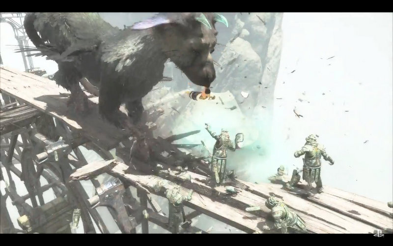 The Last Guardian tráiler