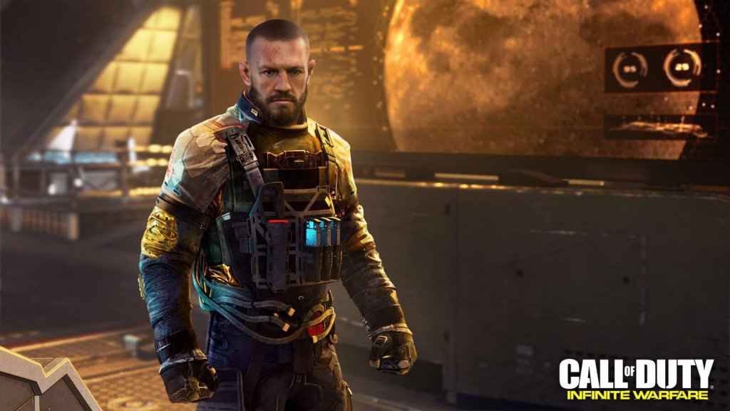 conor mcgregor call of duty infinite warfare