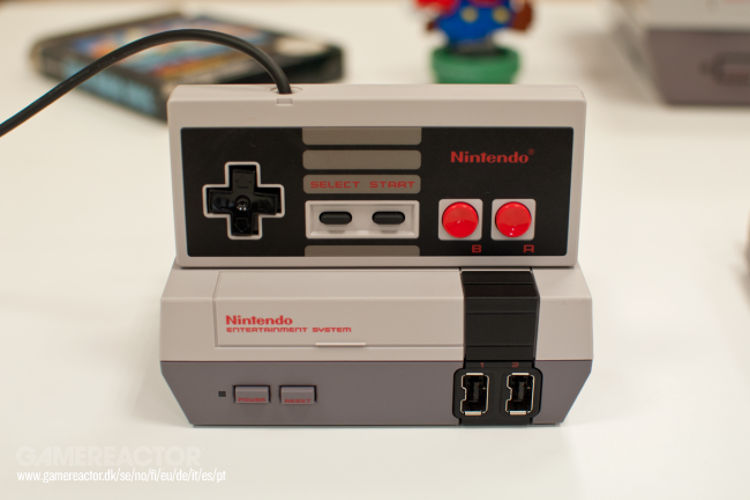 NES Mini mando inalámbrico
