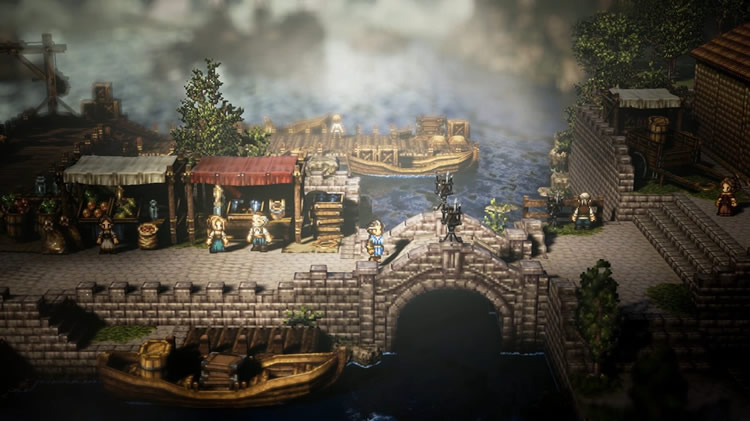 project octopath traveler 1