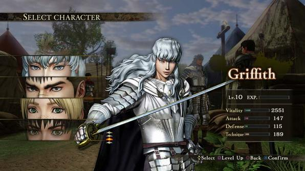 griffith-personaje